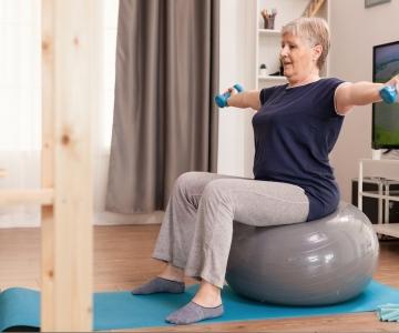 ejercicio geriatria